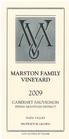 <PRE>2009 Marston Family Vineyard Cabernet Sauvignon 375ml</PRE>